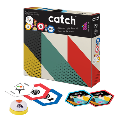 ZET Zeka CATCH Zeka ve Akıl Oyunu 4+ Yaş 2-6 Oyuncu