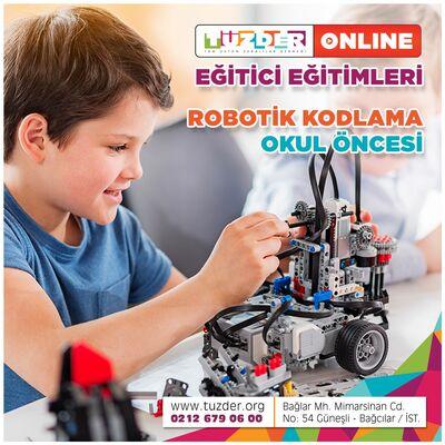 Robotik Kodlama Eğitici Eğitimi Online