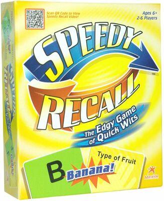 SPEEDY RECALL İngilize Zeka Oyunu
