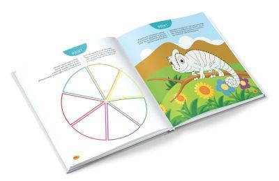 TÜZDER Yayınları Level-1 (DOT-PAINT-DRAW) (Anaokulu Seti) 4-5-6+ Yaş
