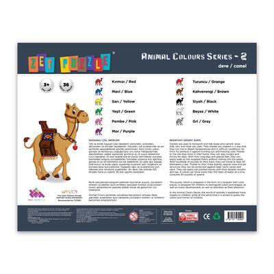 ZET PUZZLE Animal Colours Series-2 Deve/Camel
